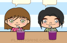 情人節七彩果汁店遊戲 / Colorful Juices Game