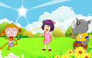 可愛女生跳繩遊戲 / Animal Skipping Game
