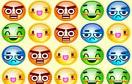 變色笑臉對對碰遊戲 / Candy Faces Game