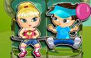 可愛的雙胞胎兄妹遊戲 / 可愛的雙胞胎兄妹 Game