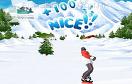 雪山滑雪賽遊戲 / 雪山滑雪賽 Game