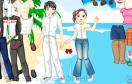 海灘情侶換裝遊戲 / 海灘情侶換裝 Game