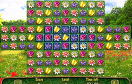 花花對對碰遊戲 / Flower Puzzle Game