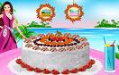 芭比製作水果蛋糕遊戲 / Barbie Coconut Cake Deco Game