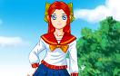 高中動漫女生遊戲 / Anime School Girl Dress Up Game